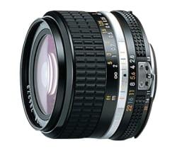 Nikon AF NIKKOR 24MM F2.8D Lens, black