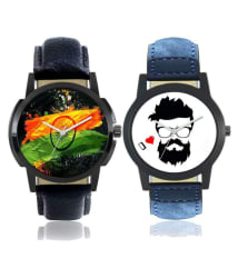 Men Foxter Colourful Designer Latest Collection Diwali Special Analog Watches (F-04-07)