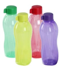 Details about Tupperware Water Bottle 500ml Bottle 4Pc Set