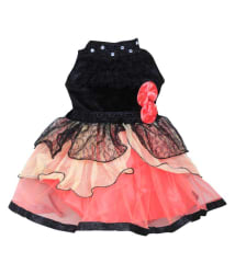 Cute Fashion Kids Girls Baby Princess Velvet and Net Party Wear Frock Dresses Clothes for 3 Months to 24 Months