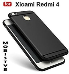 REDMI 4 Matte Black luxury fashion case Back cover.