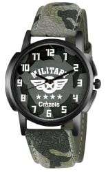 Crazeis Multicolour Analog Wrist Watch