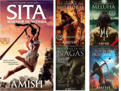 Amish s Books Combo Pack (Sita + Immortals of Meluha + Oath of the Vayuputras + Secret Of The Nagas + Scion of Ikshvaku)