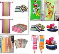 Bath Combo - Bath Towel / Hand Towel / Face Towel / Kids Towel - 6 Options