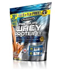 Muscletech 100% Premium Whey Protein Plus 5 lb+ 1 lb free