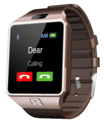 JM Brown Analog Digital Smart Watch with Call Function