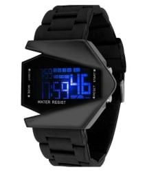 Keepkart Black Digital Analog Watch For Boys