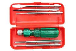 Visko Tools 101 Screwdriver Kit (Red, 6-Pieces)