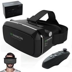 VR Shinecon 3D Glasses Headset 3D Movies Games For 4\