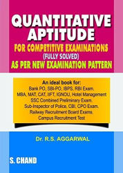 Quantitative Aptitude For Competitive Examinations Paperback (English) 7th Edition