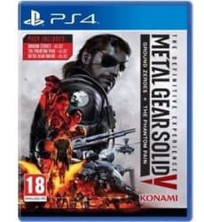 BRAND NEW SEALED METAL GEAR SOLID V MGS V 5 THE DEFINITIVE EXPERIENCE PS4 GAME