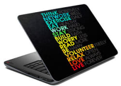 meSleep Motivational Laptop Decal - Laptop Skin- Size-14.1 to 15.6 inchess
