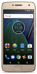 Moto G5 Plus (32GB, Fine Gold)