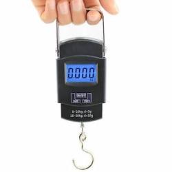 Digital 50kg Weighing Scale Heavy Duty Portable, Metal Hook Type