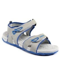 LOTTO FLOATERS/ Sandals for Men RODY (Grey/Blue)- S4S5992- 60% Discount @ Rs.640