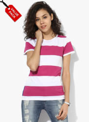 Pack Of 2 Multicoloured T Shirt