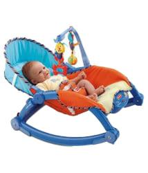 The Flyer s Bay Multicolor Newborn To Toddler Portable Rocker