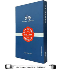 Tally ERP9 Silver GST Ready (Single User)