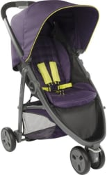 Graco Evo Mini Stroller- Night Shade Stroller (Black, Purple)