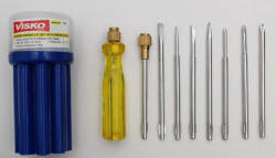 Visko Combination Screwdriver Set (Pack of 9)