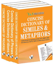 Concise Dictionary English Idioms, Proverbs, Phrases, Similies & Methaphors Value Pack