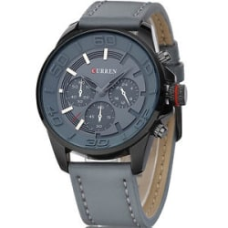 New Arrival Top Brand CURREN Mens Watches High Quality Genuine Leather