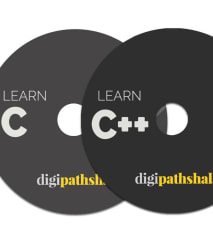 C, C++ Course with 2 DVDs by Digipathshala