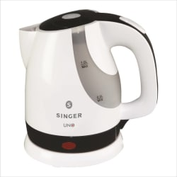 Singer UNO/SKT 100 UBI Electric Kettle (1 L, Black)