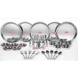 Aristo 30pcs Stainless Steel Dinner Set, silver