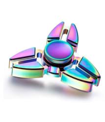 Rainbow Ninja Three Arms Multicolor Metal Fidget Spinner