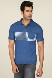 Levi s Blue Short Sleeves Polo T-Shirt