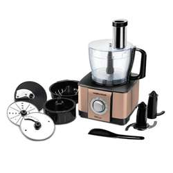 Morphy Richards Icon Superb 1000 W Food Processor (Glazing Copper Gold)