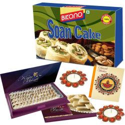 Bikano Diwali Gifts Soan Cake And Kaju Katli