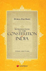 Introduction To The Constitution India 2015 Paperback (English) 22nd Edition