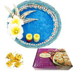 Creativity Centre Diwali Bhai Dooj Trendy Tikka Thali N Sweets