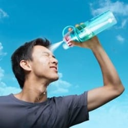 Sip & Spray Water Bottle for Gym, Sports