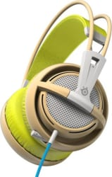SteelSeries Siberia 200 Wired Headset with Mic (Gaia Green, Over the Ear)