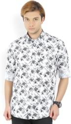 Men s Printed Casual Spread Shirt