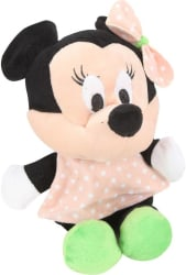 Disney Minnie Polka Dot Peach - 8 Inch - 20 cm (Multicolor)