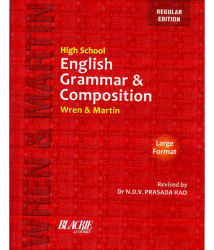 High School English Grammar & Composition Paperback - English