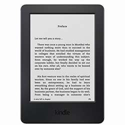 Kindle 6 inches E-reader Touch Wi-Fi (Black)
