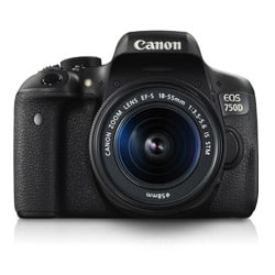 Canon EOS 750D 24.2 MP Digital SLR Camera (18-55 mm) (Black)