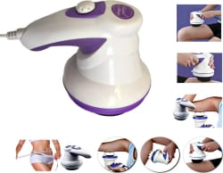 Max JS113 Manipol Body Massager (White, Purple)
