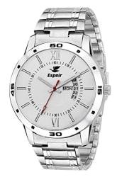 Espoir Analog White Dial Men s Watch-WDD0507