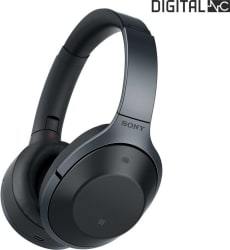 Sony MDR-1000X Bluetooth Headset with Mic (Black, Over the Ear)