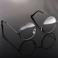 Vintage Metal Glasses Classic Round Spectacles Len Optical Eyeglasses Frame