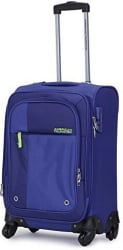 American Tourister Hugo Spinner 55 Cms Cabin Luggage - 21 inch (Blue)