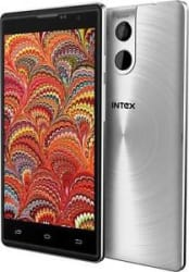 Intex Cloud String V2.0-4G VoLTE-Finger Print 16GB+2GB-SILVER-OPEN BOX-Refrbshed