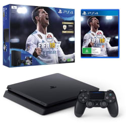 Sony PS4 1 TB Slim Console (Free Game: FIFA 18)
