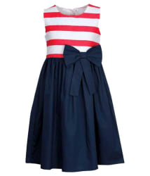 Bella Moda Multicolor Cotton Comfortable Dress